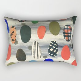 Egg Drops Rectangular Pillow