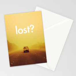 lost? Stationery Cards