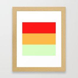 Melon Trio #1 Framed Art Print