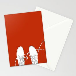 Shoes Untied Stationery Cards
