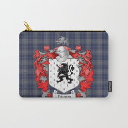 Edwards Crest and Tartan Carry-All Pouch