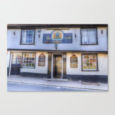 The Coopers Arms Pub Rochester Canvas Print