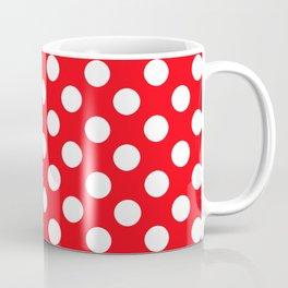 Lunares rojo Coffee Mug
