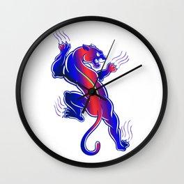 Wild Animal Wall Clock