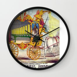 Vintage poster - Calliope Wall Clock