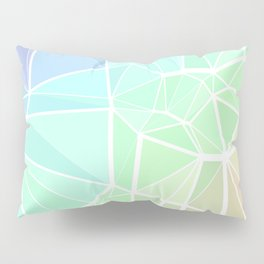 Rainbow Triangles Pillow Sham