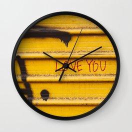Love You, New York Wall Clock