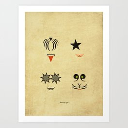 Rock my Type ! Art Print