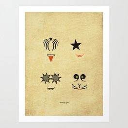 Rock my Type ! Art Print