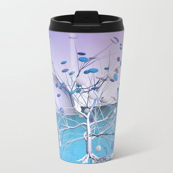 window curtain - candytree Metal Travel Mug