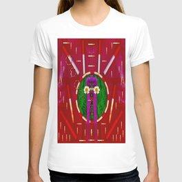 Lady Panda Smoking Hot T-shirt