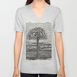 Guardian of the Riverbank Unisex V-Neck