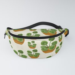 Pilea Peperomioides Plant Fanny Pack
