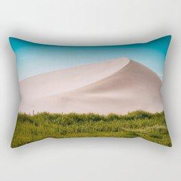 Dune green blue Rectangular Pillow
