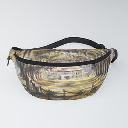 Classical African American Landscape 'Boone Hall Plantation' by Edwin Harleston Fanny Pack