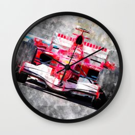 Michael Schumacher 2006 Wall Clock