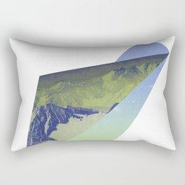 Triangle Mountains Rectangular Pillow