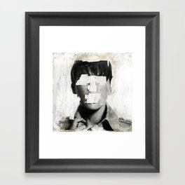 Faceless | number 02 Framed Art Print