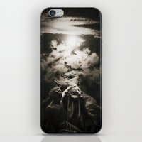 warrior iPhone & iPod Skins featuring Warrior by Armine Nersisian