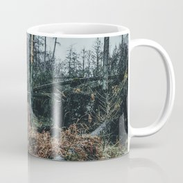 Fallen And Broken Trees After Storm Victoria February 2020 Möhne Forest 4 dark Coffee Mug