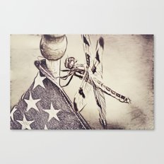 D-Fly Draw Canvas Print