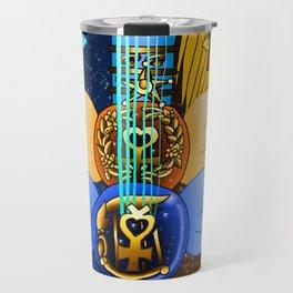 Fusion Sailor Moon Guitar #11 - Sailor Mercury & Sailor Venus Travel Mug