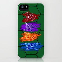 TMNT Rock iPhone Case
