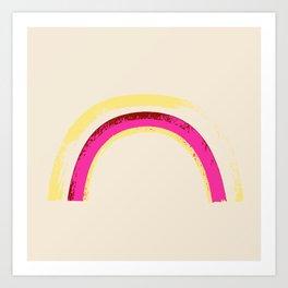 rainbow brite 1 Art Print