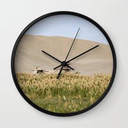 Crescent Lake China Wall Clock