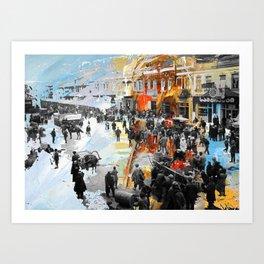 Tbilisi 4 Art Print