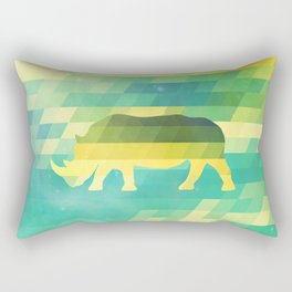 Orion Rhino Rectangular Pillow