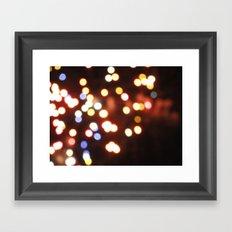 USA - Philadelphia - Lights Framed Art Print