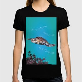 Australian Green Sea Turtle T-shirt