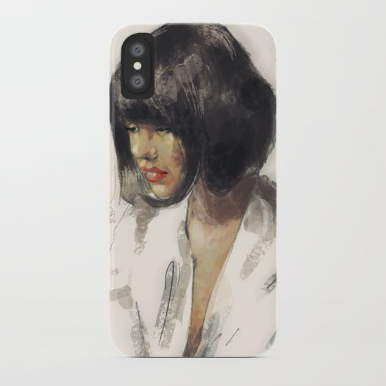 outro. iPhone Case