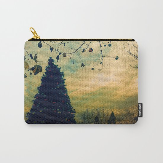 Christmas Tree at Dusk Carry-All Pouch