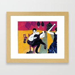 Spanish Afternoon        by Kay Lipton Framed Art Print