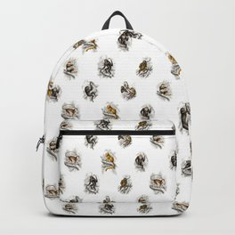 Monkey Toile Backpack