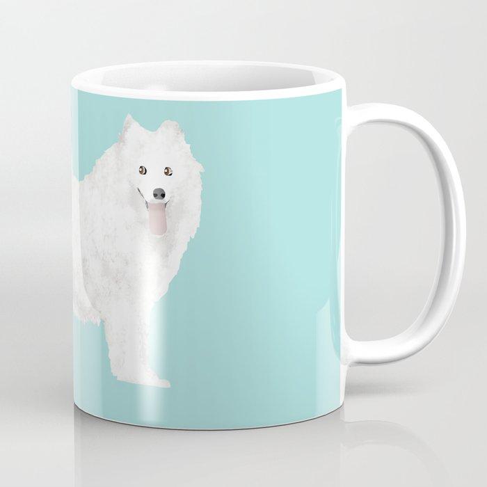 samoyed funny farting dog breed pure breed pet gifts Coffee Mug