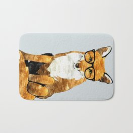 Foxy #society6 #animallover #buyart Bath Mat