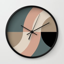 Contemporary Composition 33 Wall Clock
