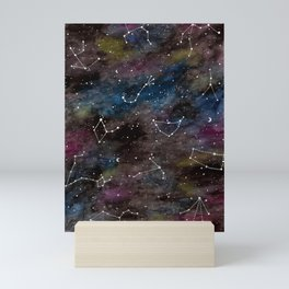 Zodiac Constellations Mini Art Print