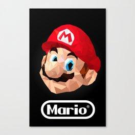 Mario Poster Canvas Print
