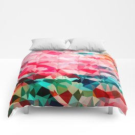 Polygon Pattern II Comforters
