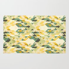 des-integrated tartan pattern Rug