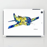 airplane iPad Cases featuring Airplane by Irina  Mushkar'ova