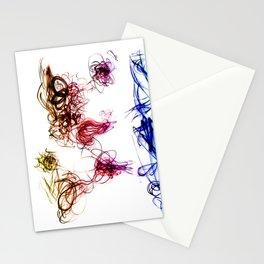 World Map Light Writing Stationery Cards