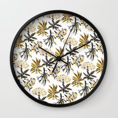 Herbal Apothecary Wall Clock