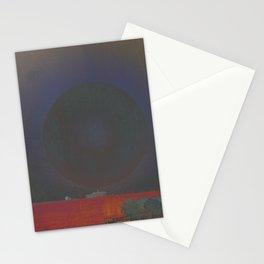 Lunas negras Stationery Cards