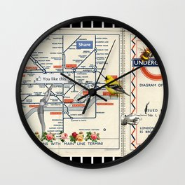 You Like This in London Wall Clock