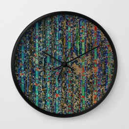 Stultitiae Laus (praise of folly) Wall Clock